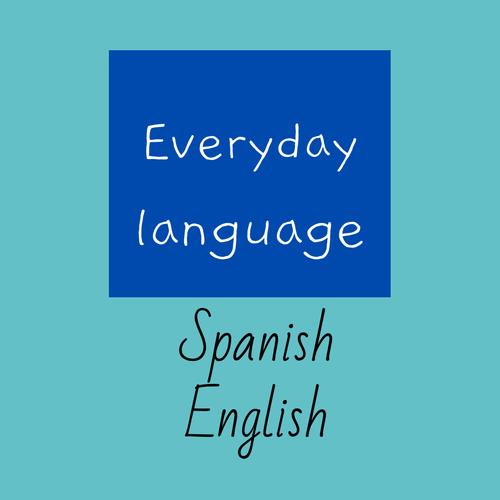 ESL EAL everyday communication cards Spanish