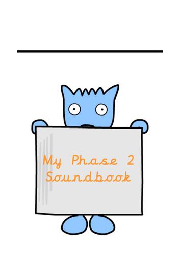 Phase 2 Handwriting Phonic Booklet Cursive