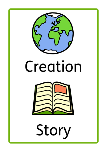 Creation Story, Interactive Book, SEN, ASD