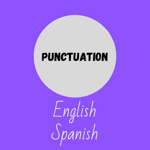 Punctuation for EAL ESL Spanish Learners