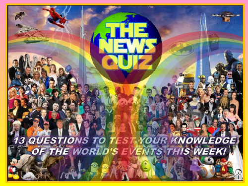 The News Quiz 1st - 7th September  2020 Form Tutor Time Current Affairs