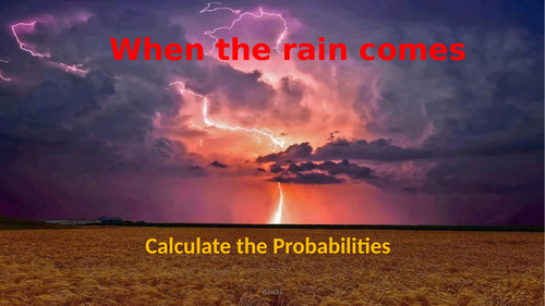 Probability, Practical maths