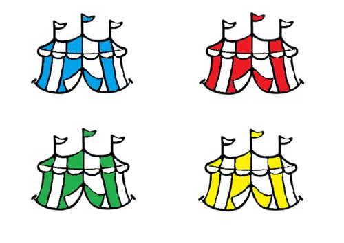 Circus theme colour matching/sorting task - Autism/ASC/SEN/Maths