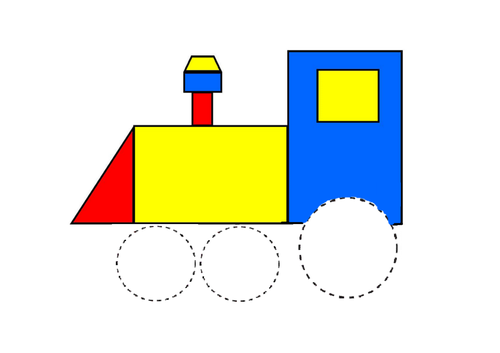 Transport theme circles - Mark making/Drawing/Pen control/Autism/ASC/SEN