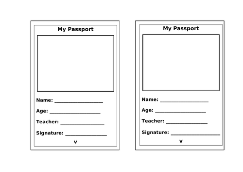 Challenge Passport- introduction page