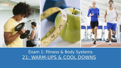 GCSE PE Edexcel 21: Warm up & cool down