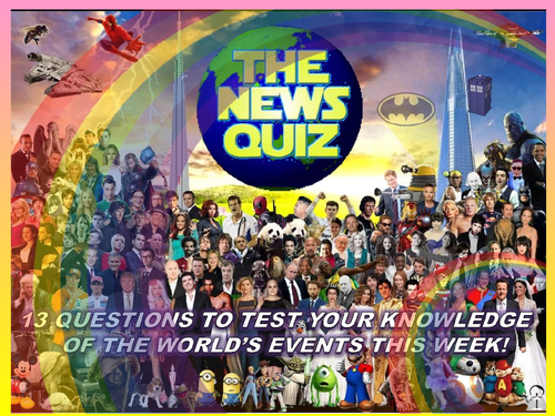 The News Quiz 7th - 14th September  2020 Form Tutor Time Current Affairs