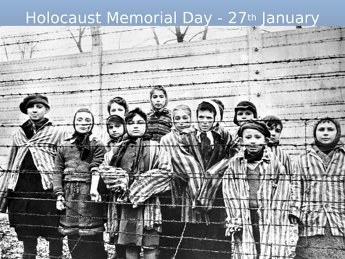 Holocaust Memorial Day ASSEMBLY / FORM