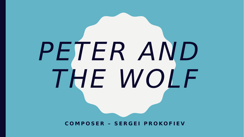 Peter and the Wolf - Programme Music lessons ideal for remote learning