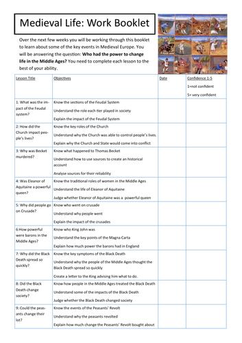 Medieval Work/Cover/Lockdown booklet