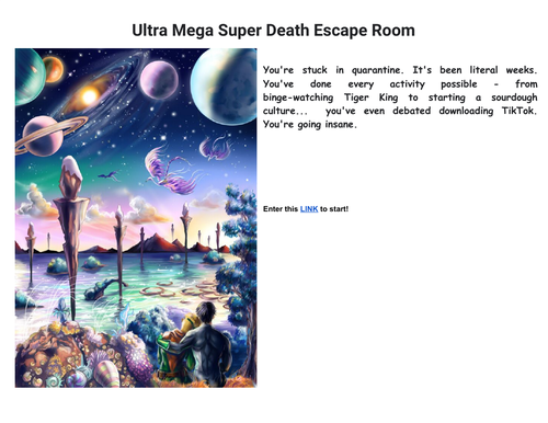 Ultra Mega Super Death Escape Room