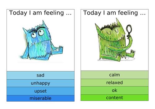 Colour Monster Emotions