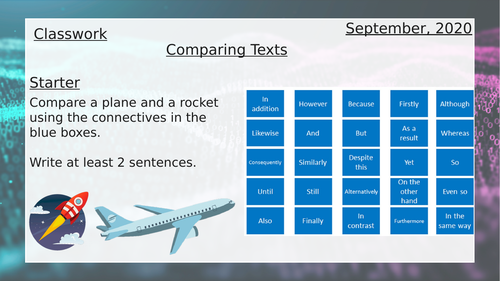 Comparing Texts based on Artificial Intelligence
