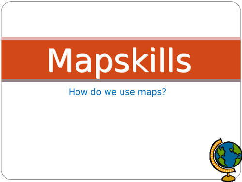 Map Skill in Geography