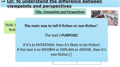 Viewpoints and Perspectives - An introduction to GCSE AQA English Language Paper 2