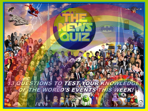 The News Quiz 14th - 21st September  2020 Form Tutor Time Current Affairs