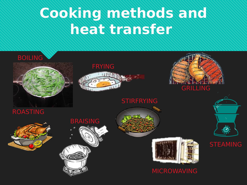 Cooking methods and heat transfer
