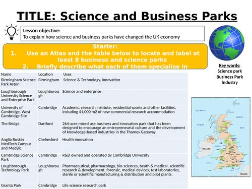 Changing Economic World  L15 - AQA GCSE
