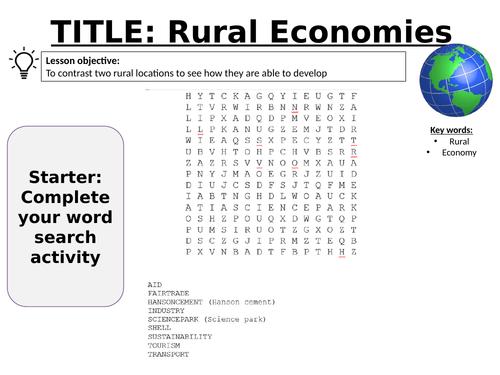 Changing Economic World  L17 - AQA GCSE