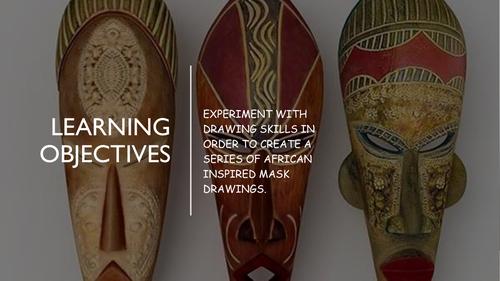 African Masks Lesson