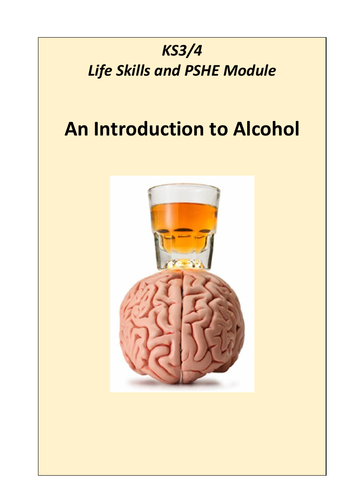 Introducing Alcohol Education as part of PSHE