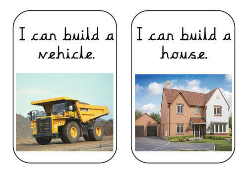 I Can Build...