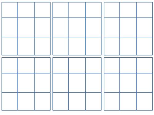 Finding the Mode Bingo