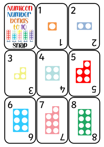 Number Bonds to 10 Snap