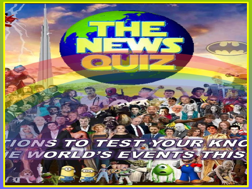 The News Quiz  21st - 28th September 2020 Form Tutor Time Current Affairs