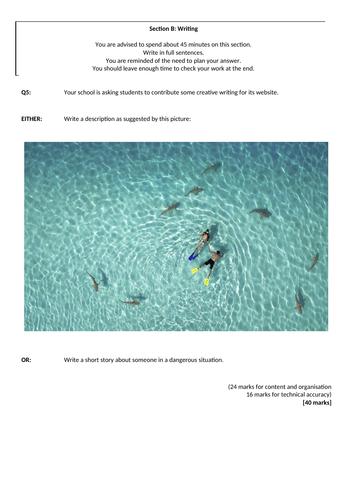 Langauge Paper 1 - Q5