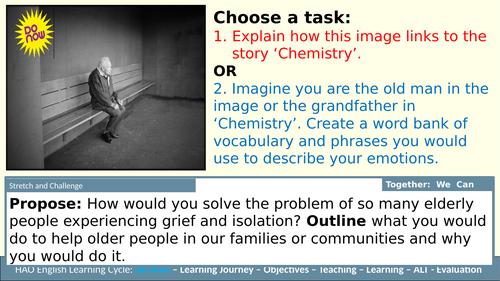 AQA Telling Tales Anthology 'Chemistry'