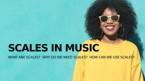 Modes / Dorian Scale - Fun music lesson for virtual, hybrid or in-person