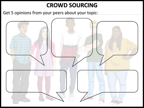 CROWD SOURCING
