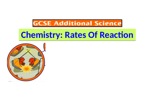 GCSE Chemistry: Rate of reaction