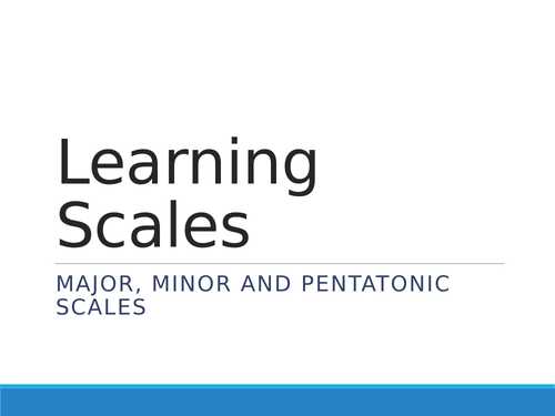 Composing using SCALES - Fun music lesson for virtual, hybrid or in-person