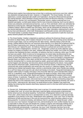 Essay about culture and identity
