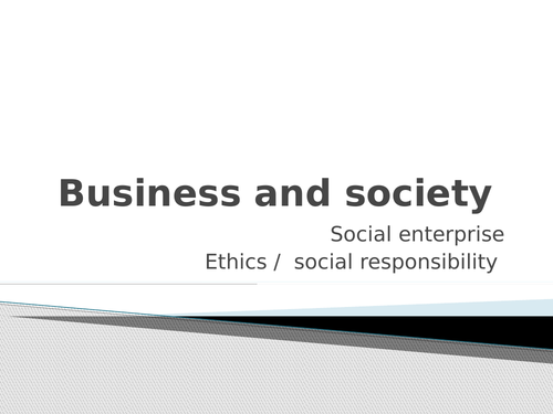 Ethical business ppt