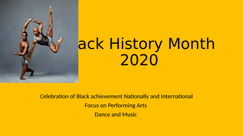Black History Month Resource