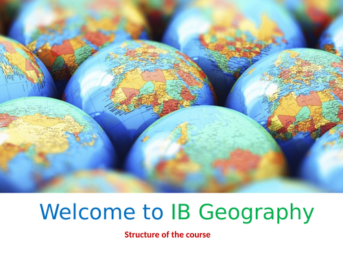 IB Changing Population - Lesson 1