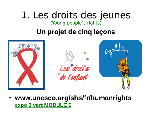Project on the Rights of Young People