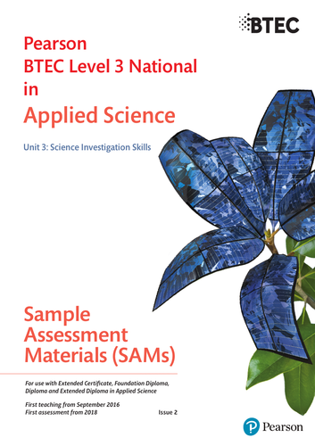 BTEC level 3 Applied science Unit 3 Fuels set of lessons