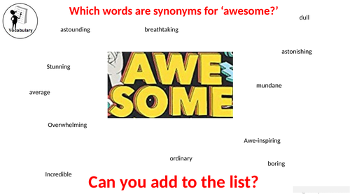 You Are Awesome Guided Reading resource chapters 1-2