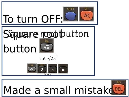 Calculator GCSE Hacks