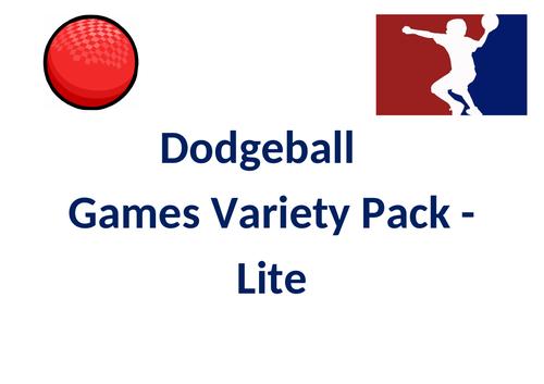 Dodgeball Games Variety Packs - Lite