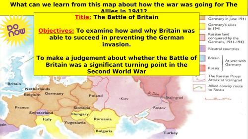 World War 2: The Battle of Britain