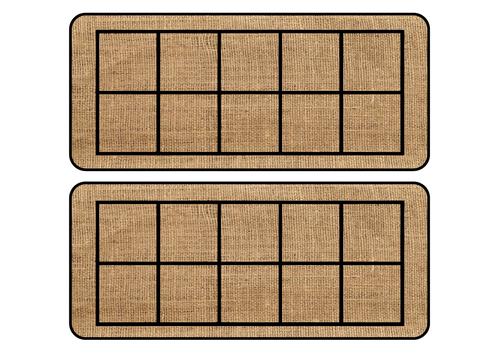 Hessian Ten Frames