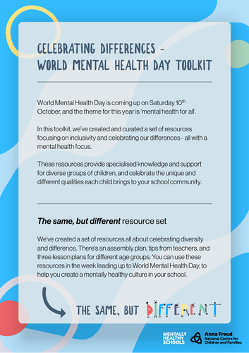 World Mental Health Day Toolkit 2020