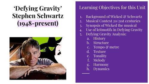 Defying Gravity Power point