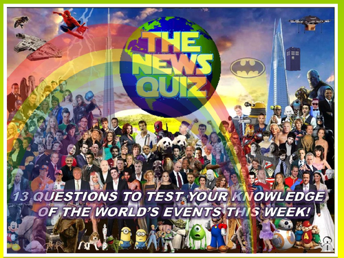 The News Quiz 5th - 12th October 2020 Form Tutor Time Current Affairs