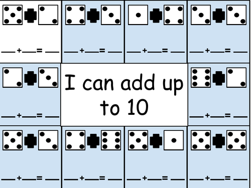Maths - addition to 5 and 10